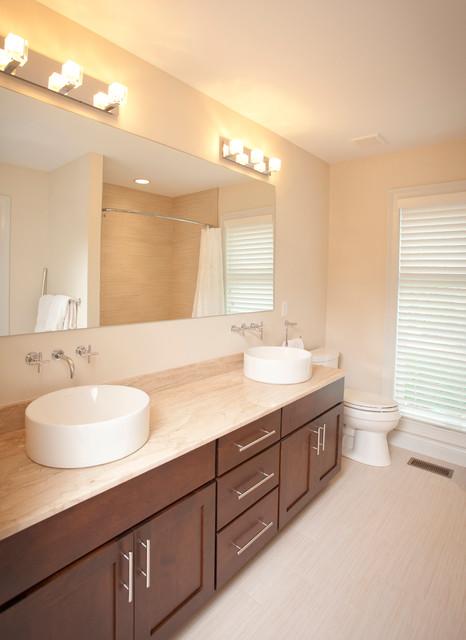 Modern Inspired Bath Ideas contemporary-bathroom