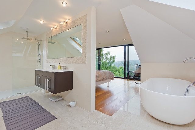 Modern interiors contemporary bathroom sussex by neil mac photo