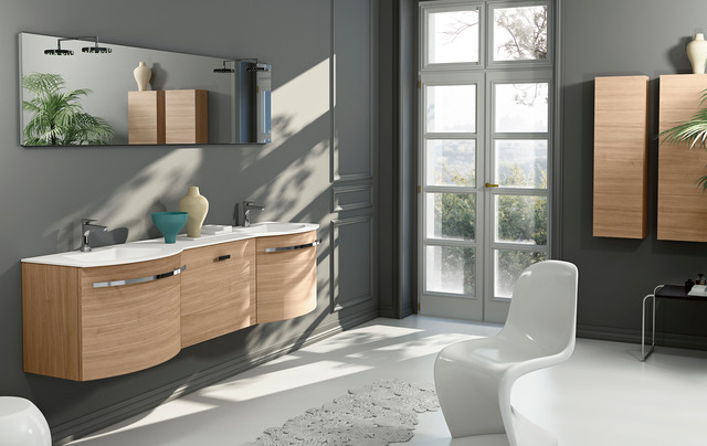 Modern Italian Bathroom Vanities Latitudine By GB Group Contemporary