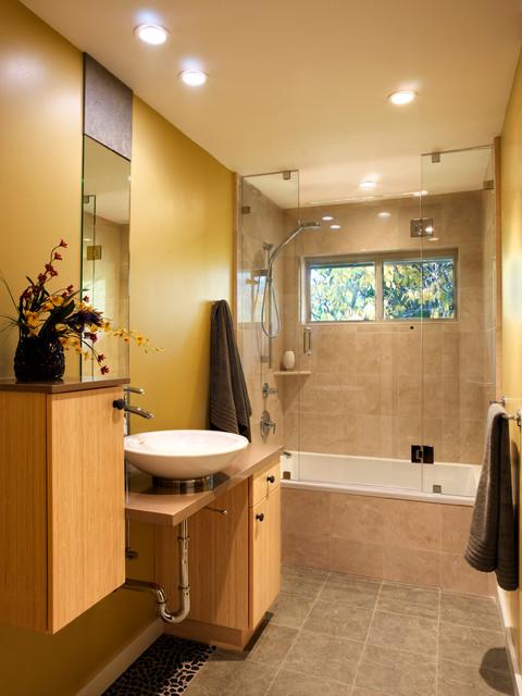 Modern Japanese Bathroom Contemporary Bathroom San