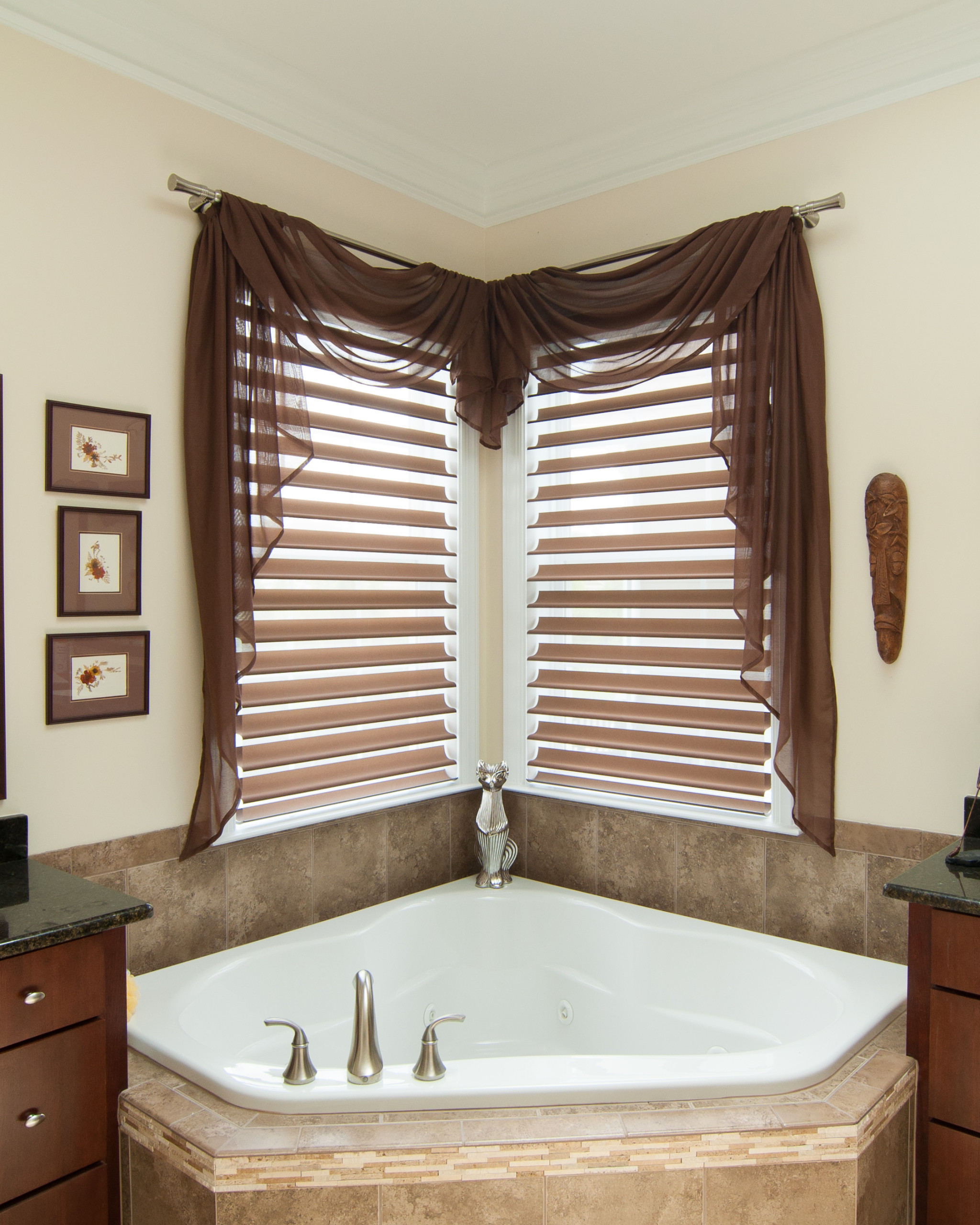 Corner Window Treatments Houzz