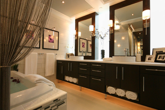 Modern Luxe Bathroom Contemporary Bathroom Charlotte