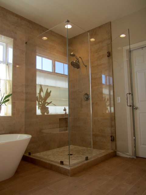 Modern Luxurious Master Bathroom - traditional - bathroom - san ...