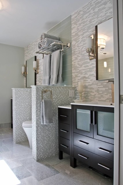 Modern Luxury - Master Bath - transitional - bathroom - other ...