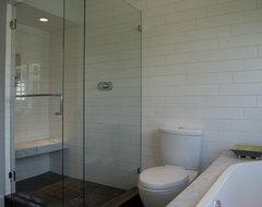 Modern Marble Bathroom contemporary-bathroom