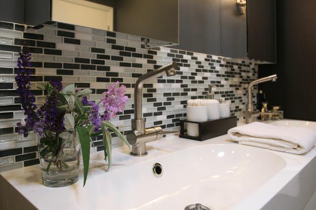 Modern Masculine Bathroom contemporary-bathroom