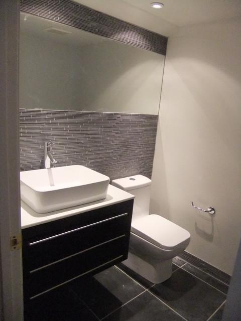 half bathrooms. Bathroom - Modern Bathroom Idea In Boise Half Bathrooms F