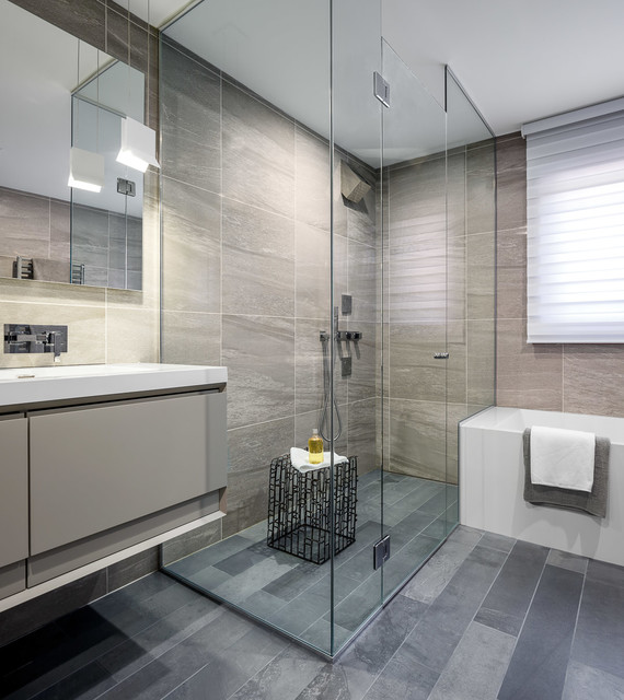 Modern masculinity ensuite bath astro design centre for Bathroom design ottawa