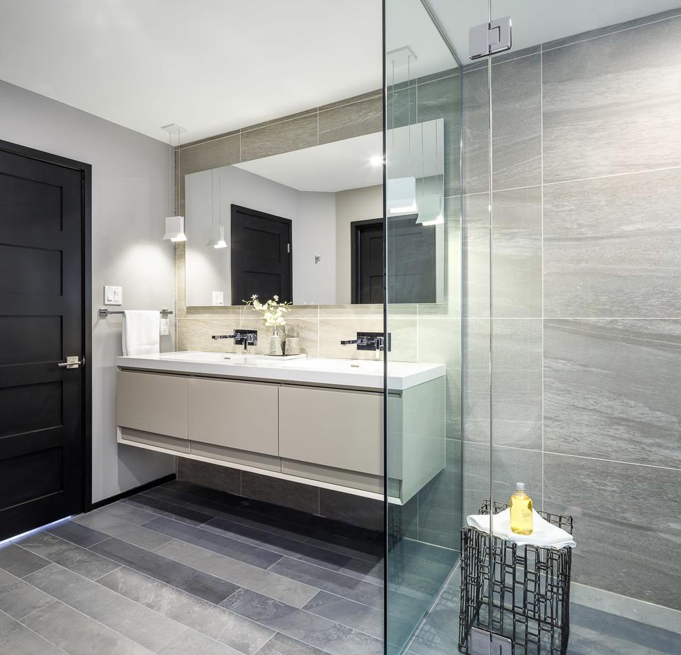 Modern Masculinity Ensuite & Bath | Astro Design Centre ...