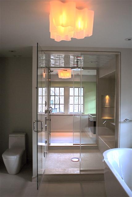Modern Master Bath modern-bathroom