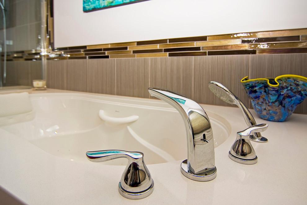 Modern Master Bath - Modern - Bathroom - St Louis - by ...