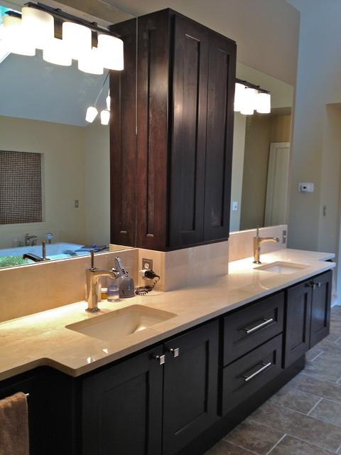 Modern Master Bath Remodel traditional-bathroom