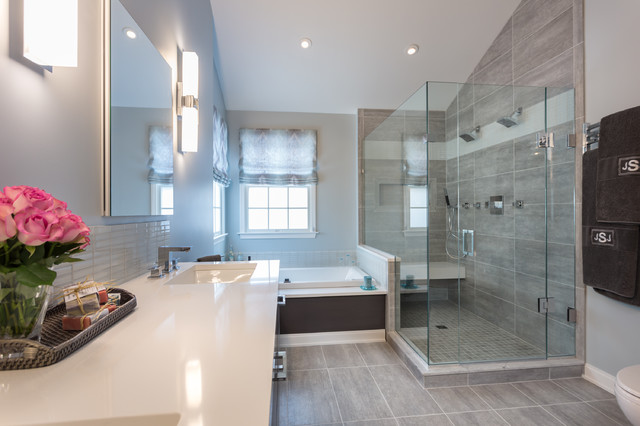 modern master bath retreat in fairfield ct modern bathroom new