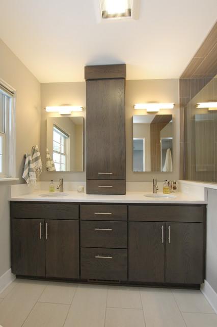 modern master bath  modern  bathroom  grand rapids