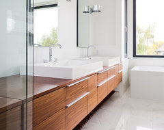 modern master bathroom contemporary-bathroom