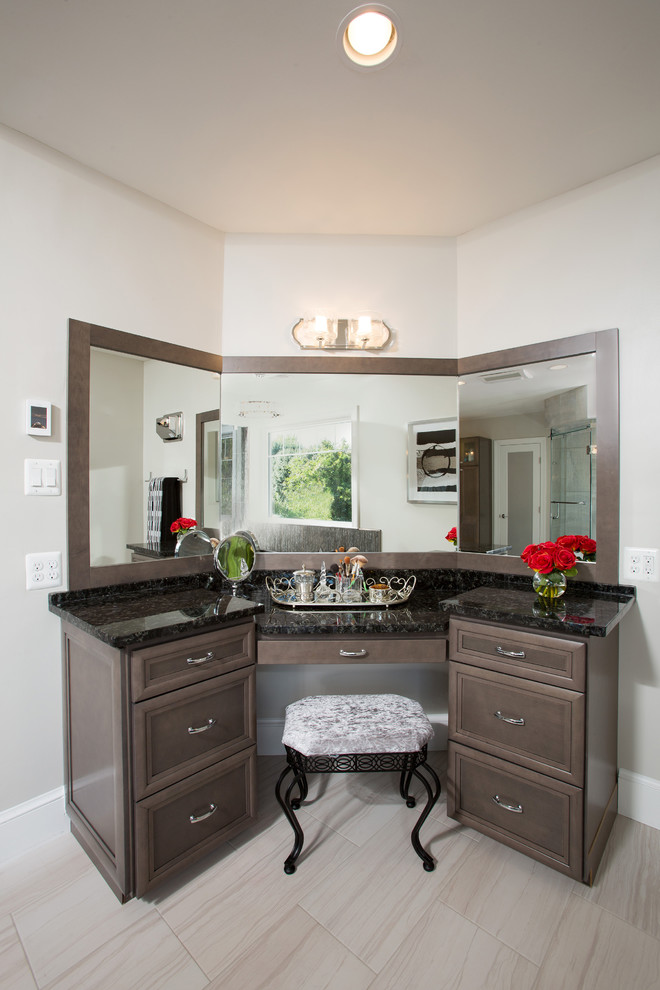 Modern Master Bathroom Remodel with it's own Infrared ...