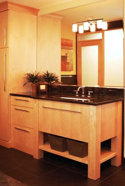 Modern Master modern-bathroom