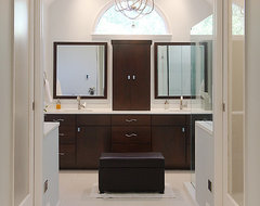 Modern Master contemporary bathroom