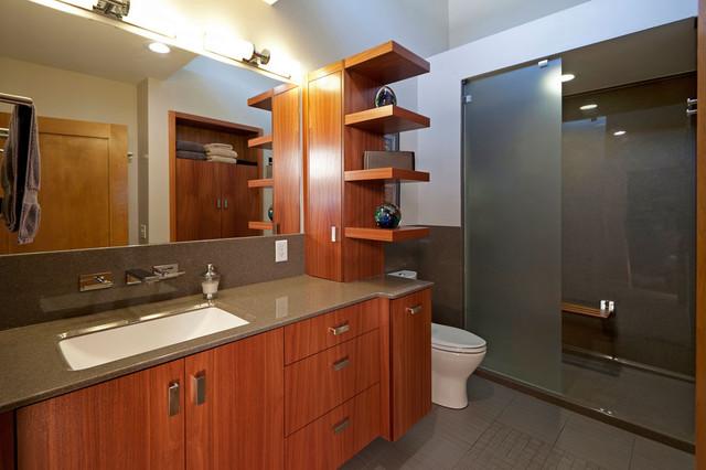Modern Master Suite Remodel - Modern - Bathroom - St Louis - by ...