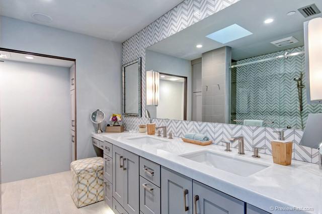 Modern Mediterranean Modern Bathroom San Diego By Design Theory Studio