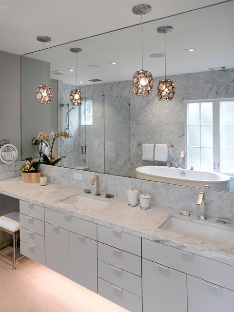 Modern Mediterranean Remodel Mediterranean Bathroom San Francisco By Levy Design