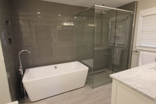 Edging Tiles Bathroom How Are The Tile Edges Finished Bullnose Tiles Or Schluter Strips