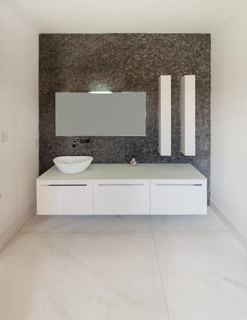 Private Residence Miami Contemporary Bathroom Miami By Opustone