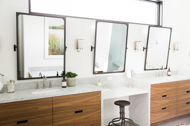 Modern Mountain Home Transitional Bathroom Salt Lake
