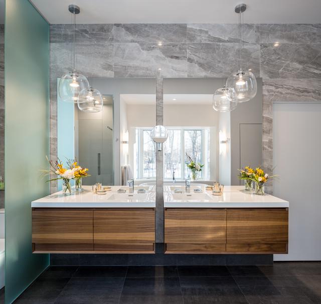 Modern Nature Master Bath Astro Design Centre Ottawa Canada Contemporary Bathroom
