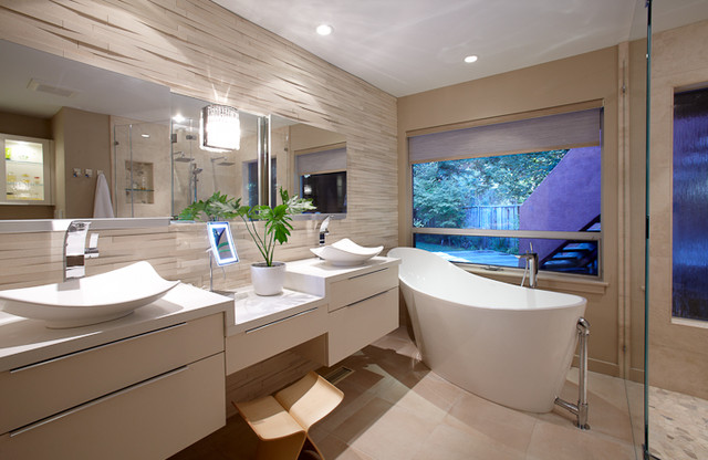 Modern Oakland Bathroom Contemporary Bathroom Other Metro By Ny Interiors