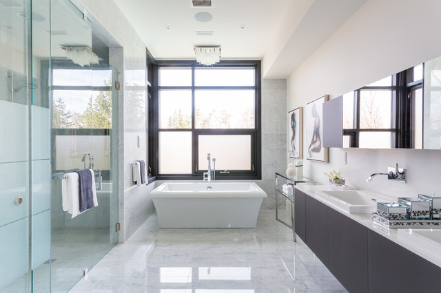 Modern Oasis Contemporary Bathroom Toronto By David Small Designs