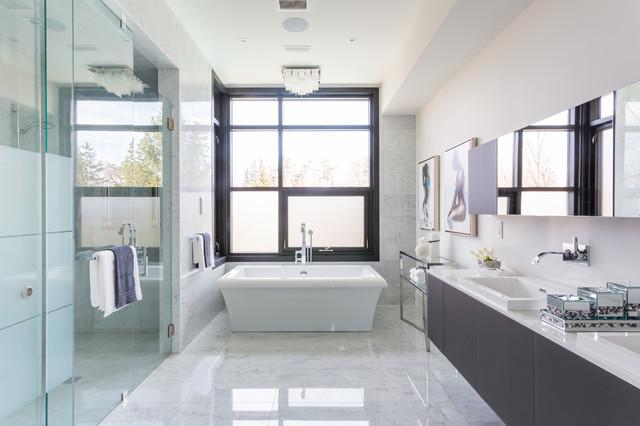 Modern Oasis Contemporary Bathroom Toronto By David Small Designs
