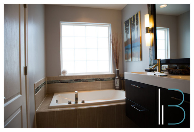 """Modern Oasis"" modern-bathroom"