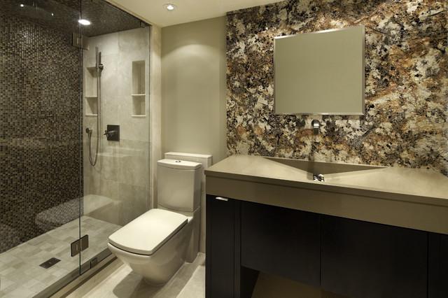 Modern Riverside Guest Bath Modern Bathroom