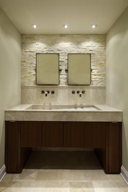 Modern Riverside modern-bathroom