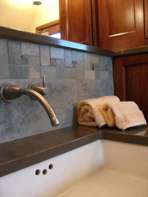 Modern Rustic Bathroom Modern Bathroom Milwaukee By One Room