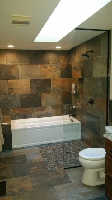 Amazing Modern Rustic Bathroom Wet Room Rustikal Badezimmer Download Free Architecture Designs Scobabritishbridgeorg