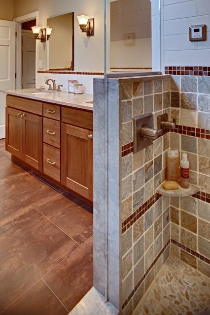 Modern Rustic Master Bathroom Contemporary Bathroom