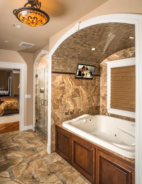 Modern Rustic Refined Ranch rustic-bathroom