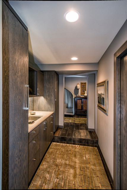 Modern Silo - Contemporary - Bathroom - Other - by Monticello Custom Homes and Remodeling