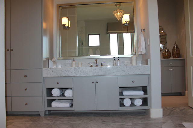 modern slab flat panel cabinet door kitchen by burrows cabinets modern bathroom austin