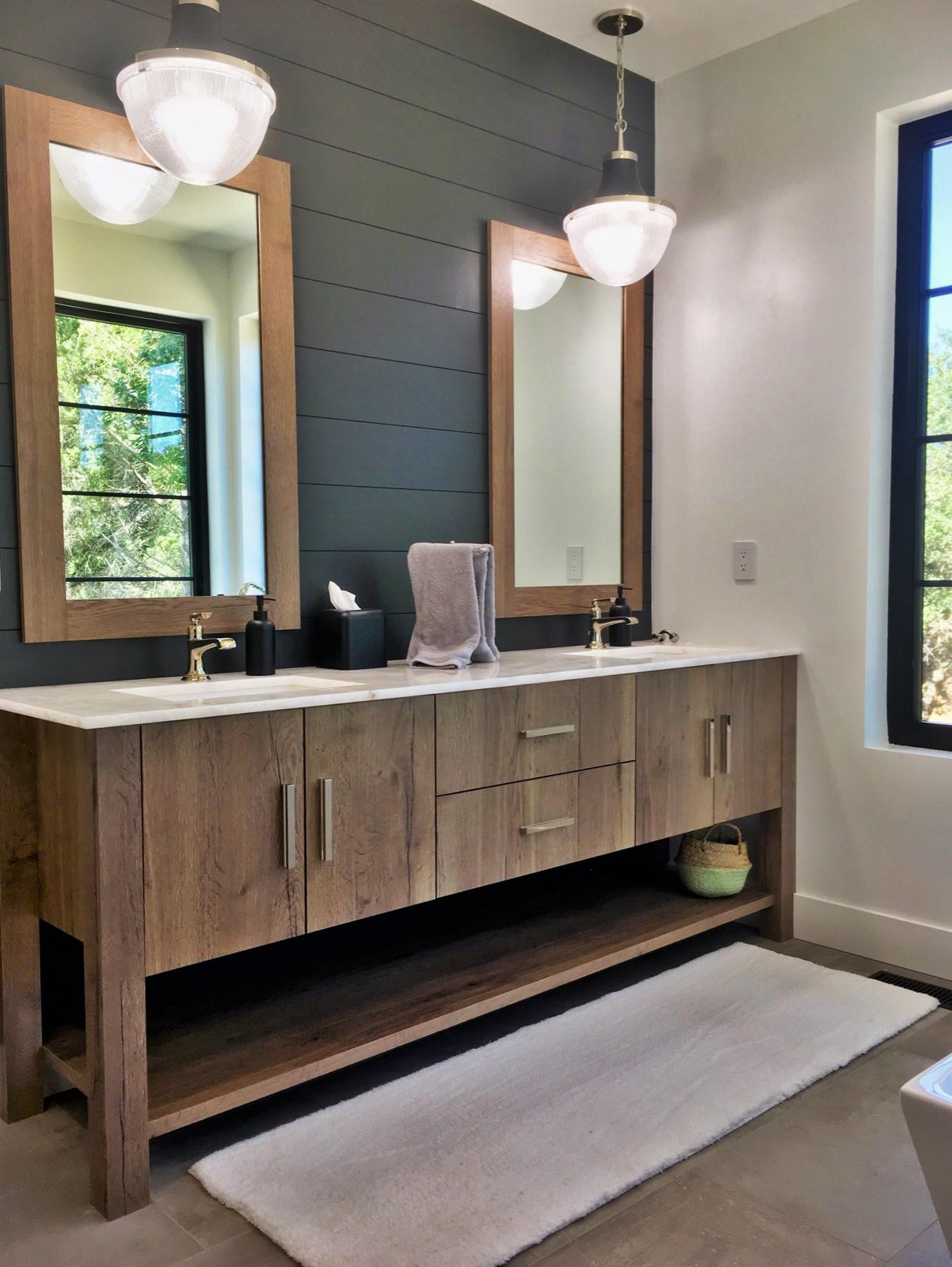 Modern Sonoma Bath - New Home on a Hill