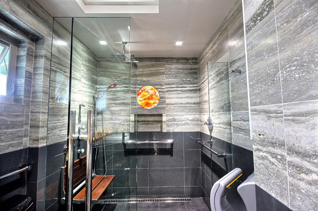 Modern Spa Bath Designed For All Family Members To