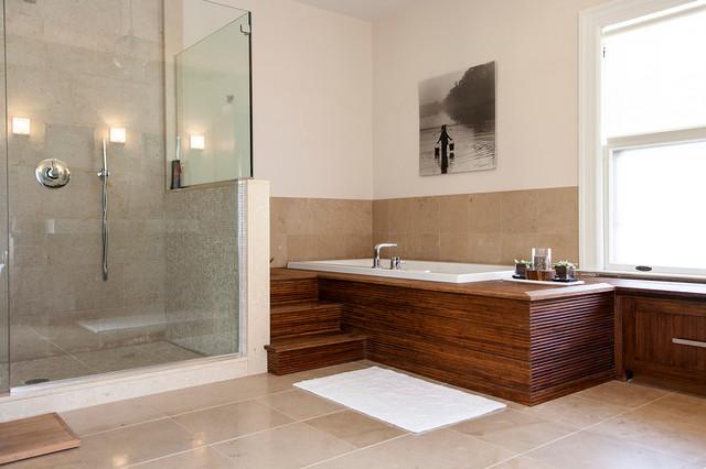 Modern Spa Like Bathroom