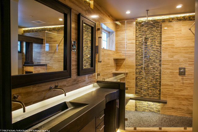 Modern Spa Like Master Bath Makover Contemporary Bathroom Denver By Nicholas Modroo