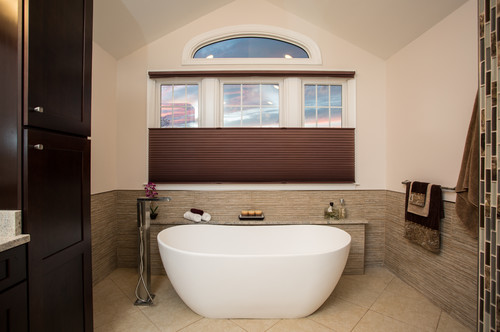 Modern Style Bathrooms for a Family in Ashburn