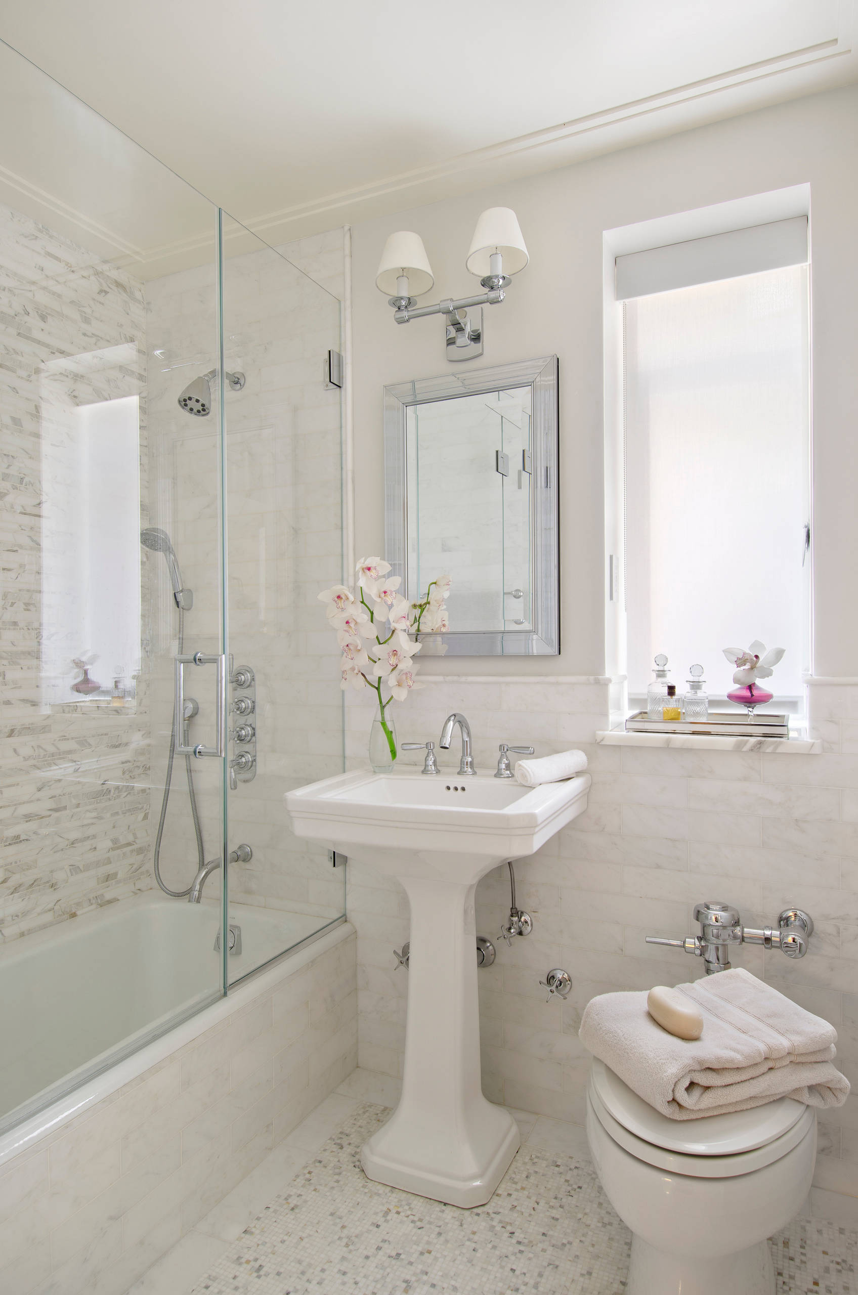 75 Beautiful Small Bathroom Pictures Ideas October 2020 Houzz