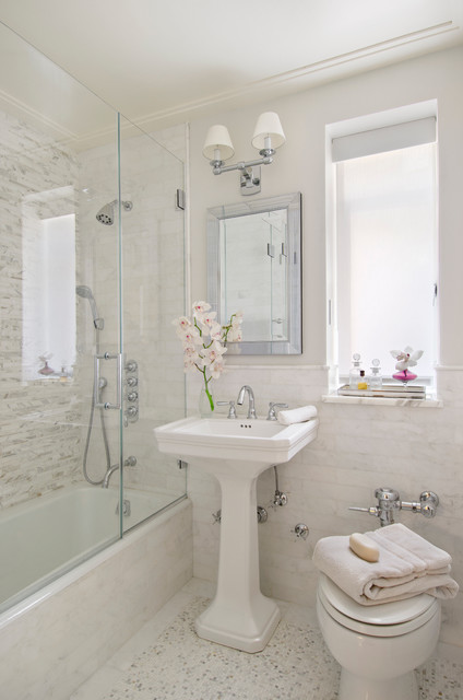 Modern Traditional Traditional Bathroom Miami by Frances