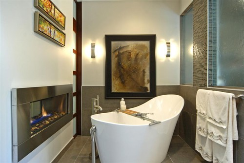 A Soaking Tub Is The Perfect Complement To A Master Bath Spa.