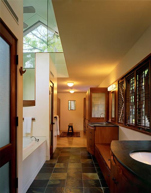 Modern tree house contemporary bathroom boston by omr architects - Tree house bathroom ...